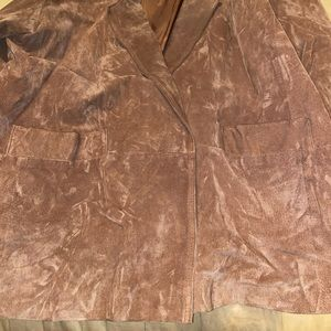 Hunters Run Jackets & Coats - Brown Genuine Leather Jacket
